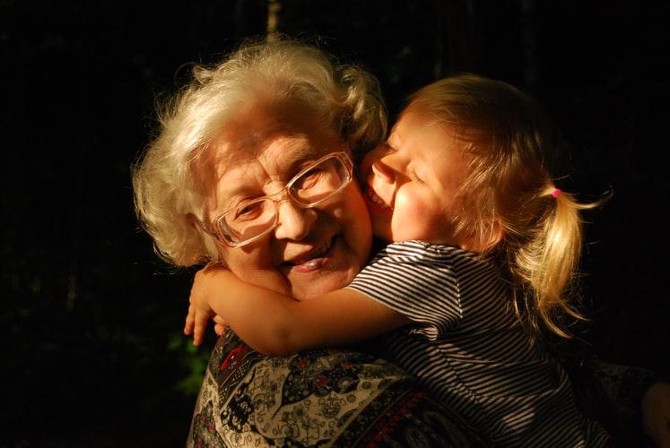 bunica mea draga