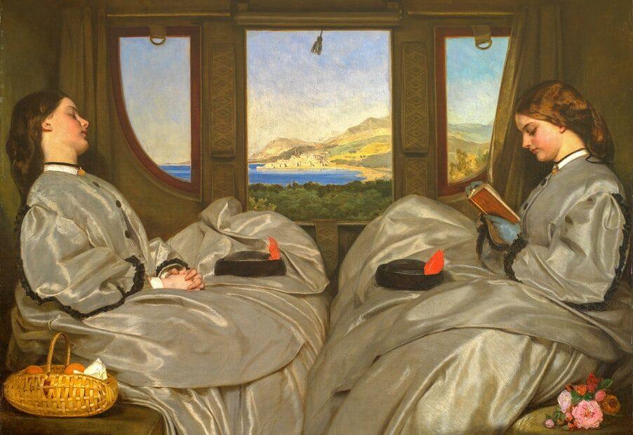 calatoria cu trenul